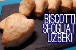 biscotti sfogliati uzbeki