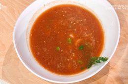 zuppa di pesce con briciole di pasta di Fabio Potenzano