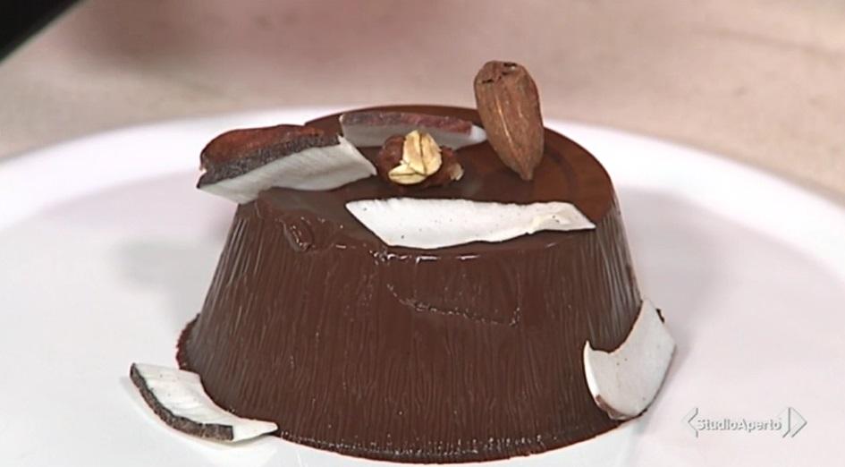 budino al cioccolato vegano