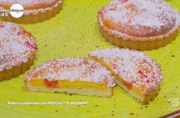 mini crostate ai lamponi