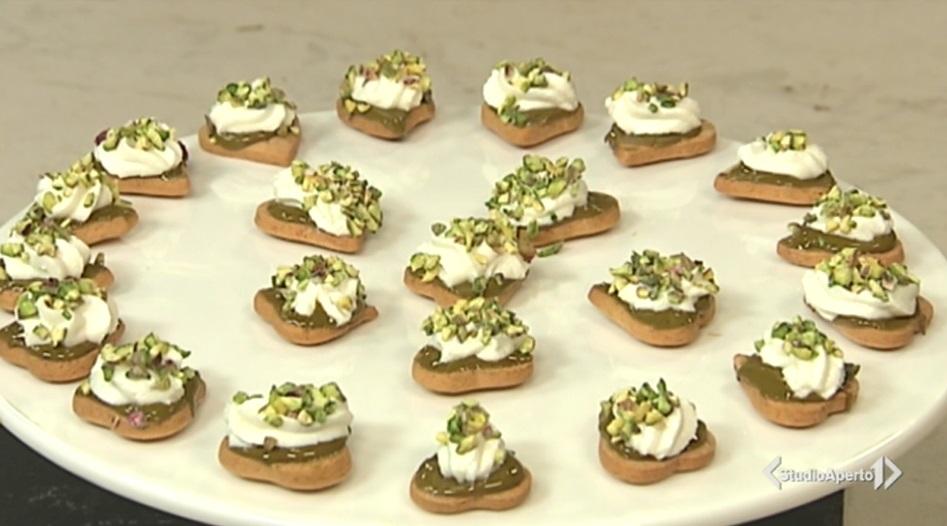 mini delizie al pistacchio