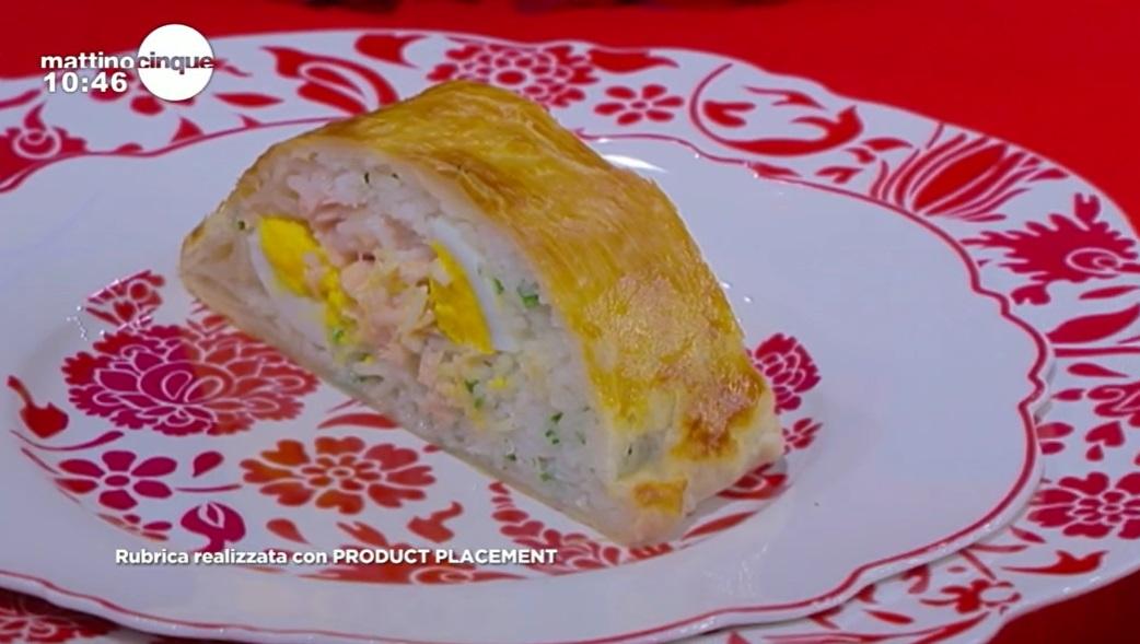 torta salata di salmone