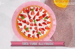 torta furba alle fragole di Natalia Cattelani