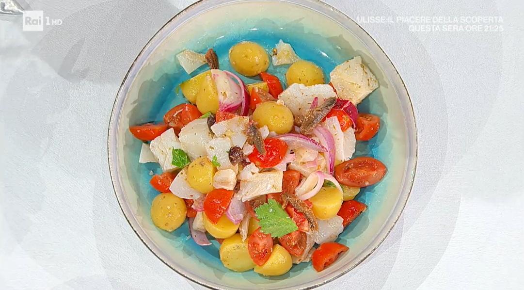 insalata di stoccafisso alla ligure di Ivano Ricchebono