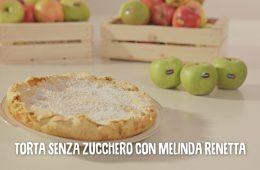 torta di mele senza zucchero