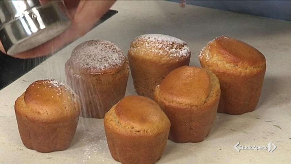 muffin al miele e limone