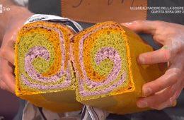 spirale di pane ai 3 colori di Fulvio Marino