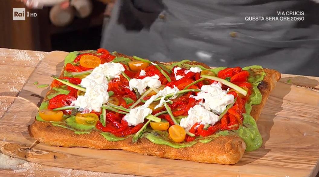 pizza alle verdure di Fulvio Marino