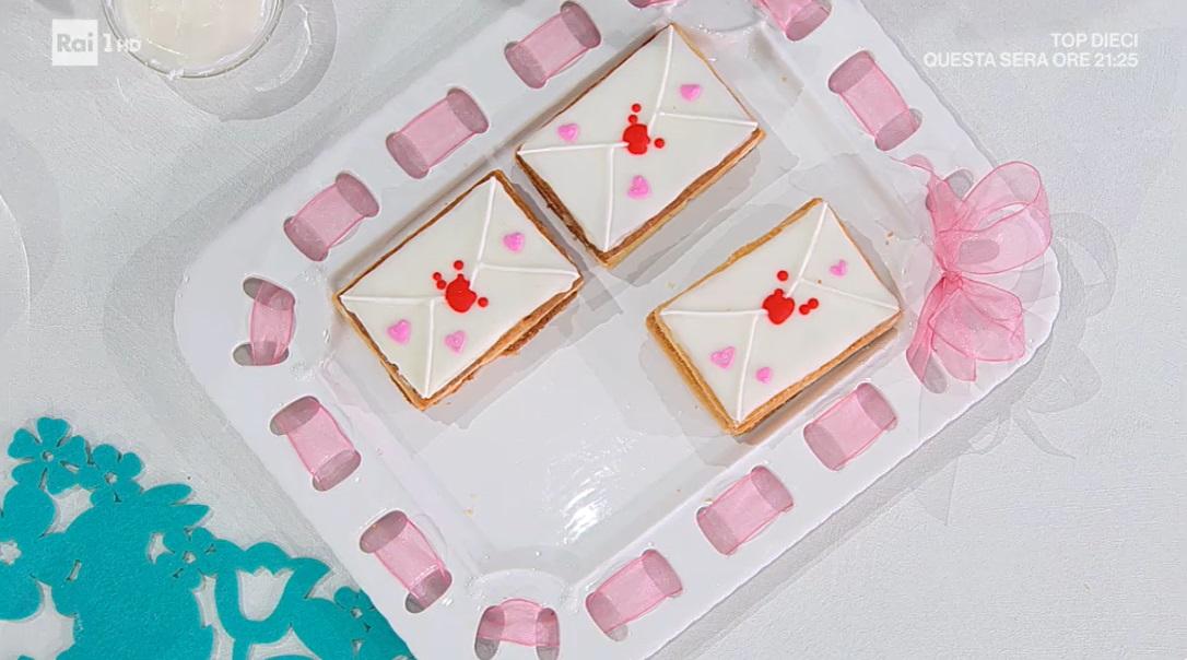 dolci letterine di Sara Brancaccio