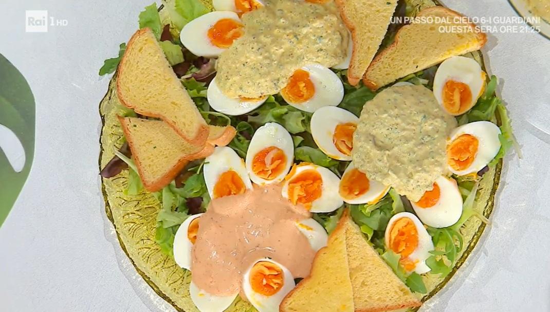 salse varie su nidi di uova di Daniele Persegani