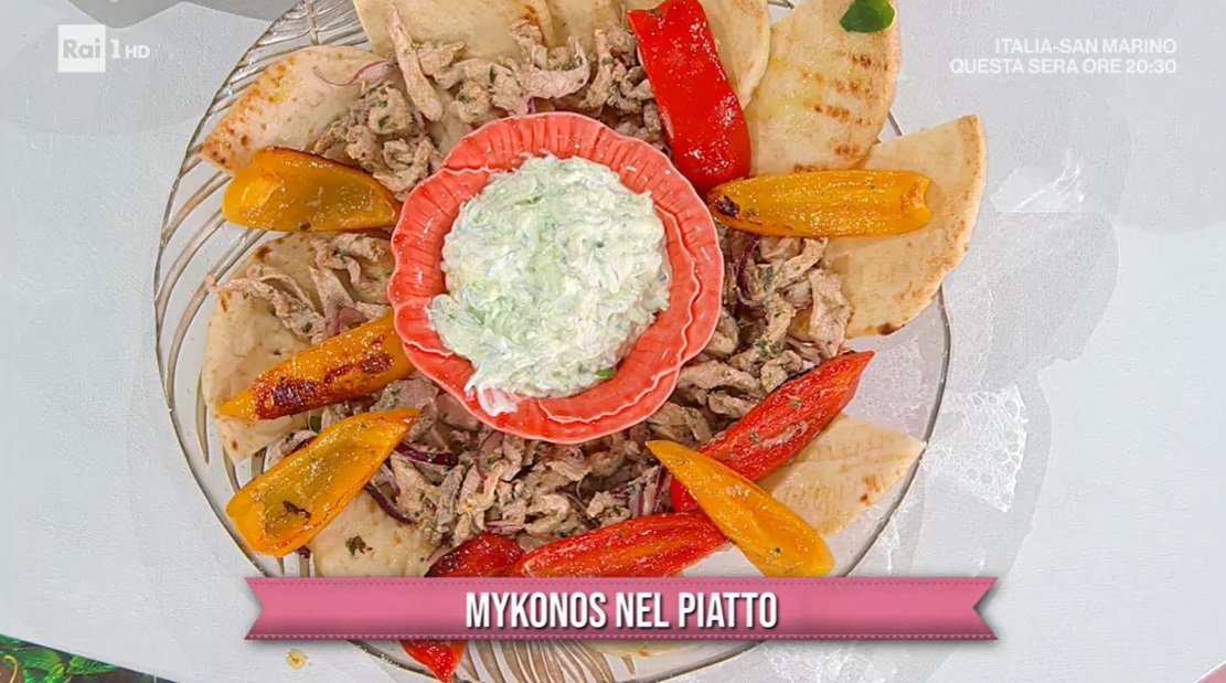 Mykonos nel piatto di Daniele Persegani