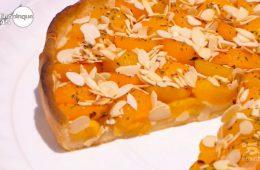 torta con albicocche e rosmarino