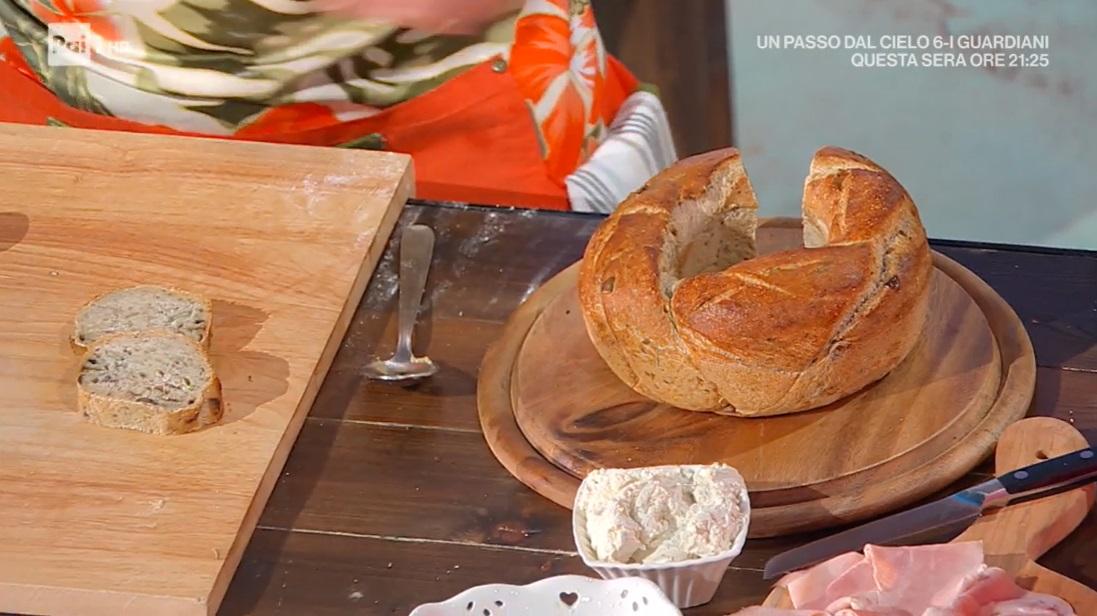 treccia di pane aromatico di Fulvio Marino