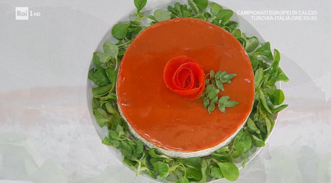cheesecake salata alle erbe e pomodoro di Daniele Persegani