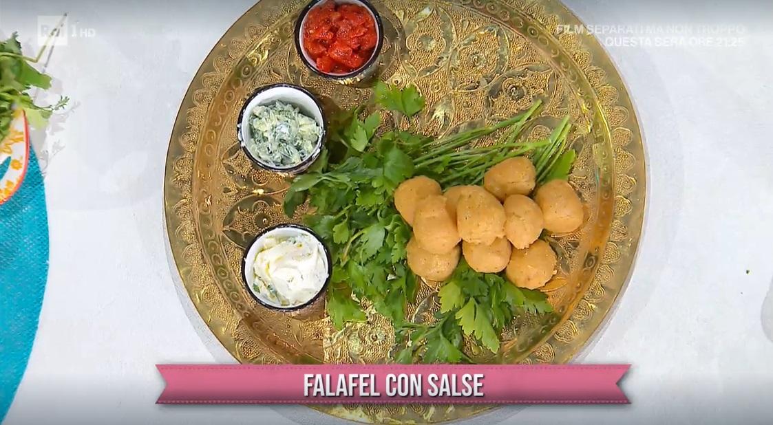 falafel con salse di Francesca Marsetti