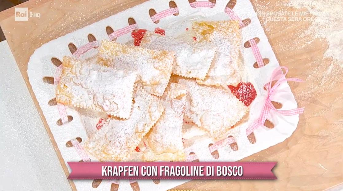 krapfen con fragoline di bosco di Barbara De Nigris