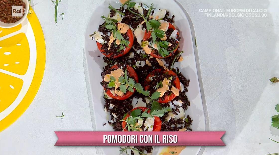 pomodori con il riso di Sergio Barzetti