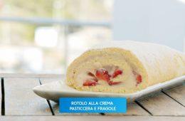 rotolo con crema e fragole di Giusina Battaglia