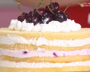 torta in padella con ciliegie di Natalia Cattelani