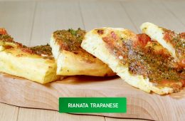 pizza rianata trapanese