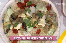 risotto alla parmigiana di melanzane di Sergio Barzetti