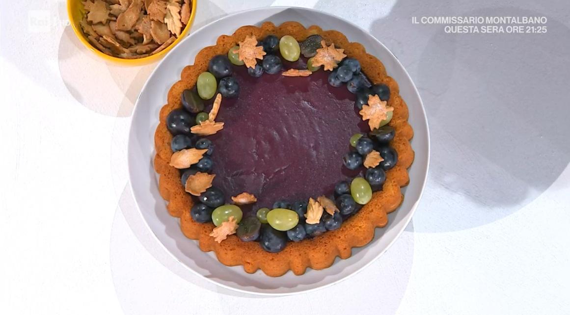 torta ai sughi d'uva