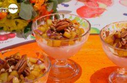 delizia al latte di mandorle e prugne