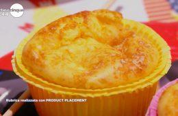 muffin allo yogurt e parmigiano