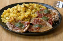 saltimbocca con patate