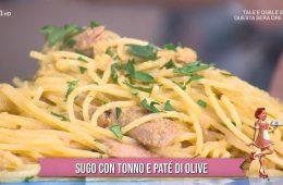 sugo con tonno e patè di olive di zia Cri